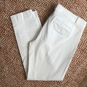 Banana Republic Sloan Pant - White- Size: 10